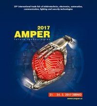 We will take part in Brno in AMPER 2017.03.21-24. exhibition!