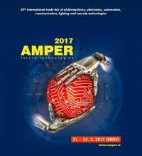 Részt veszünk az AMPER 2017 Brno-i szakkiállításon! 2017.03.21-24.